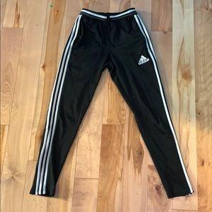 adidas full stripe sweatpants